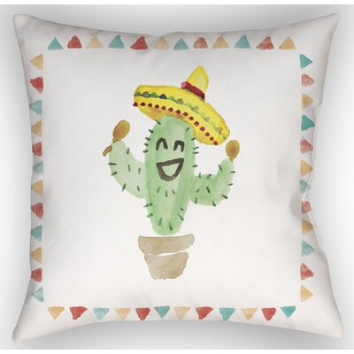 Cactus Indoor/Outdoor Throw Pillow Size: 18 H x 18 W x 4 D
