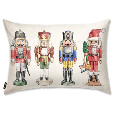 Nutcrackers Lumbar Pillow