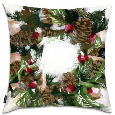 Smell of Pine Throw Pillow