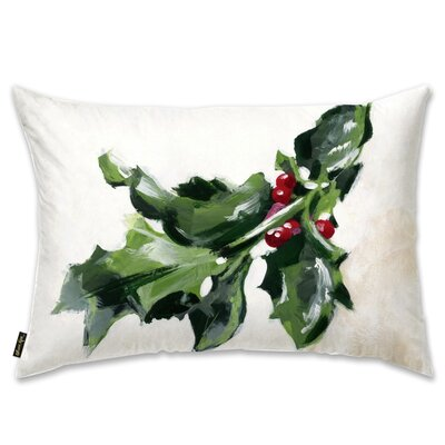 Mistletoe Lumbar Pillow