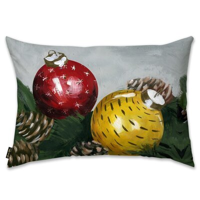 Xmas Time Lumbar Pillow