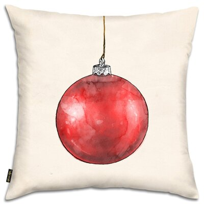 Red Season Dream Throw Pillow
