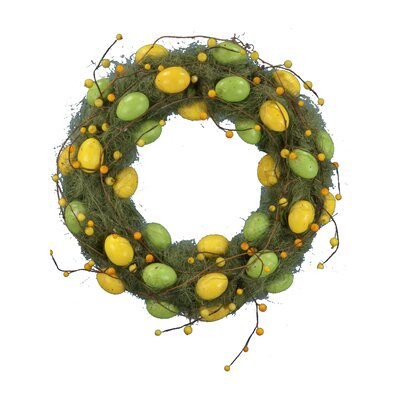 18 Egg Wreath