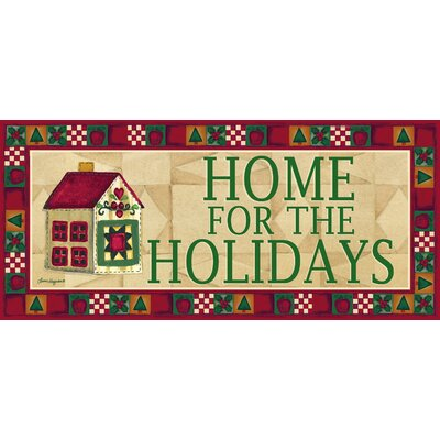 Home for The Holidays Sassafras Switch Mat
