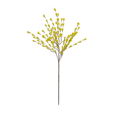 Forsythia Spray (Set of 4) Color: Yellow