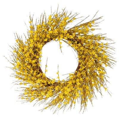 22 Forsythia Wreath