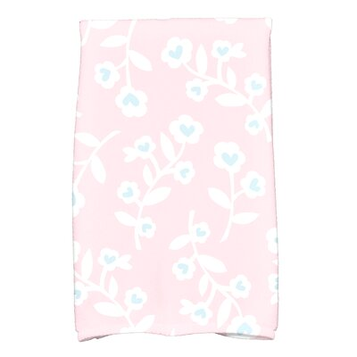 Valentines Floral Hand Towel