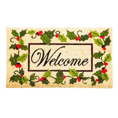 Holly Coir Doormat