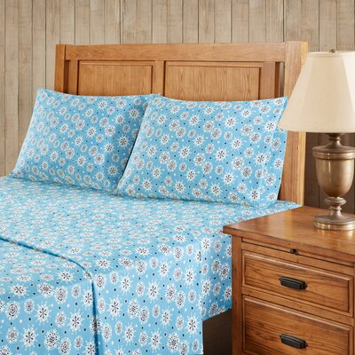 Snowflakes Sheet Set Size: California King