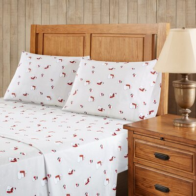 Snowmen Sheet Set Size: King