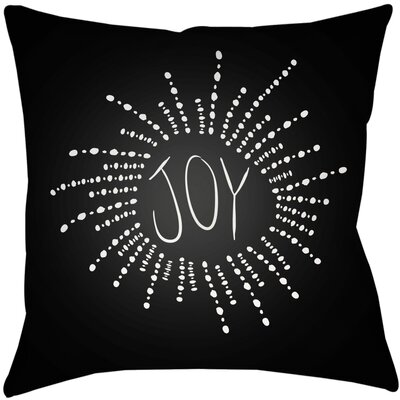 Bursting with Joy Indoor/Outdoor Throw Pillow Size: 18 H x 18 W x 4 D