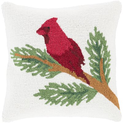 Winter Pillow Cover Fill Type: Polyester