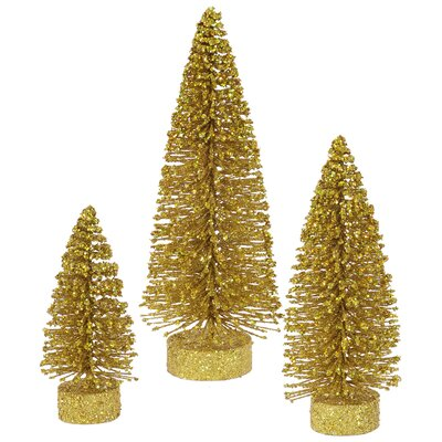 3 Piece Oval Christmas Tree Set
