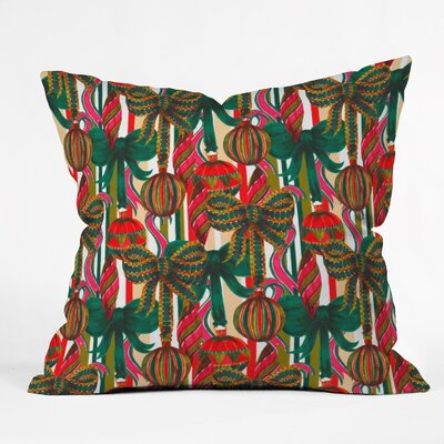 Jade Baubles Throw Pillow Size: Small