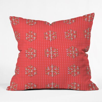 Oosterhout Flakes A Flutter Throw Pillow Size: Large