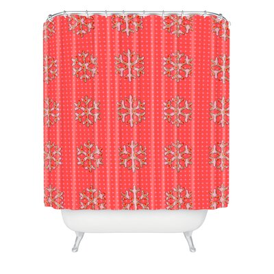 Oosterhout Flakes A Flutter Shower Curtain