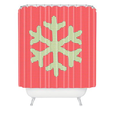 Oosterhout Snowflake Shower Curtain