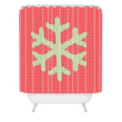 Oosterhout Snowflake Shower Curtain