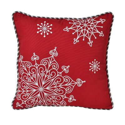 Snowflake Decorative Cotton Throw Pillow