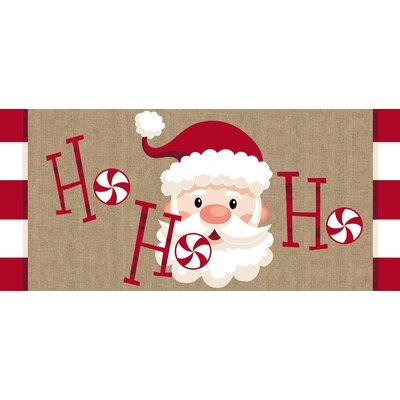 Santa Ho Ho Ho Sassafras Switch Doormat
