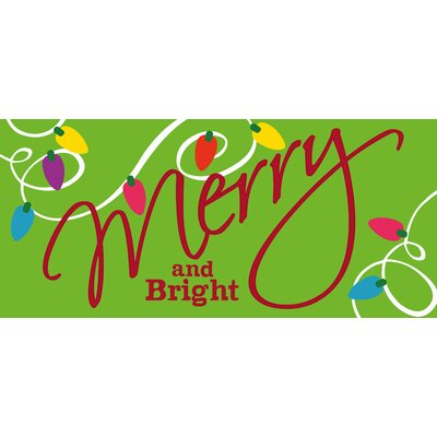 Merry and Bright Sassafras Switch Mat