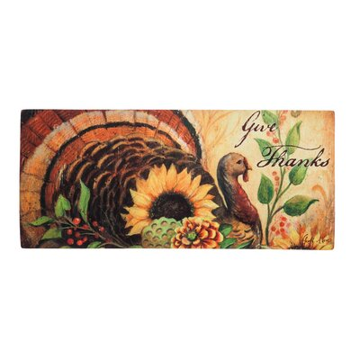 Woodland Turkey Sassafras Doormat