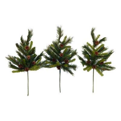 31 Pine Spray with Pine Cones