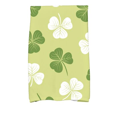 Funky Junky Lucky Hand Towel Color: Light Green
