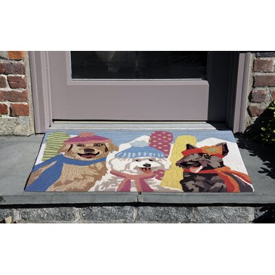 Hand-Tufted Indoor/Outdoor Area Rug Rug Size: 23 x 6