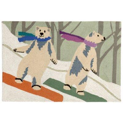 Boarding Bears Doormat