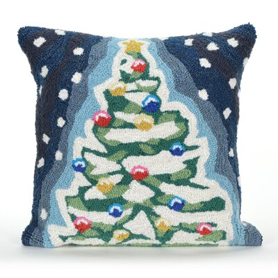 Xmas Tree Indoor/Outdoor Throw Pillow