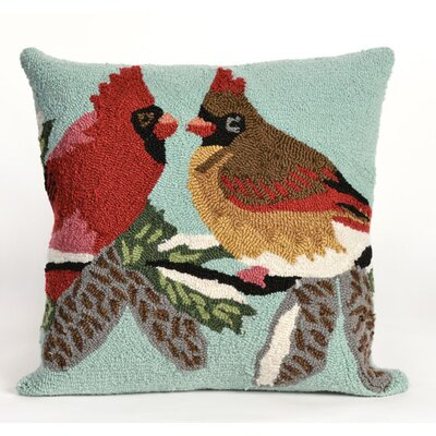 Cardinals Sky Throw Pillow