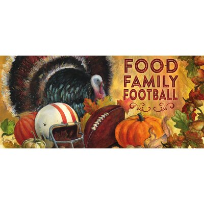 Food Family Football Sassafras Switch Mat