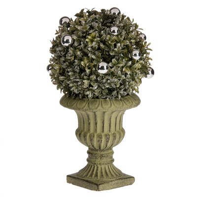 Single Ball Topiary in Urn