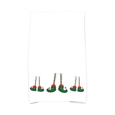 Jump for Joy Elfin Magic Hand Towel Color: White