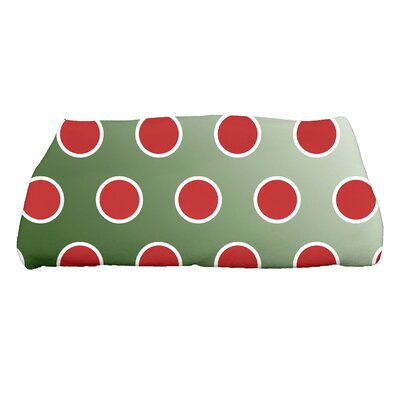 Jump for Joy Holiday Bubbly Bath Towel Color: Dark Green