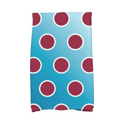 Jump for Joy Holiday Bubbly Hand Towel Color: Teal