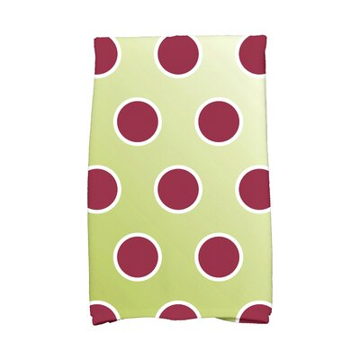 Jump for Joy Holiday Bubbly Hand Towel Color: Light Green