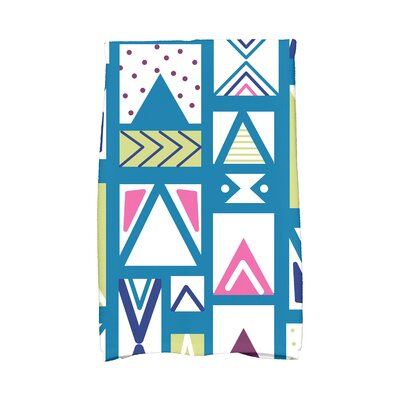 Jump for Joy Merry Susan Hand Towel Color: Teal