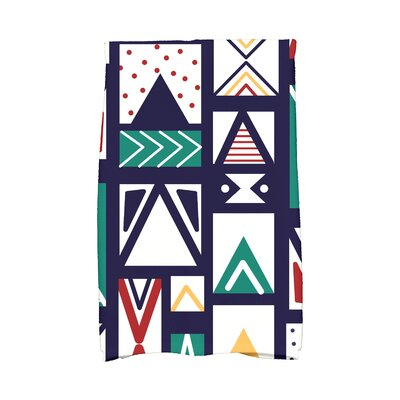 Jump for Joy Merry Susan Hand Towel Color: Blue
