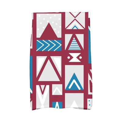 Jump for Joy Merry Susan Hand Towel Color: Cranberry