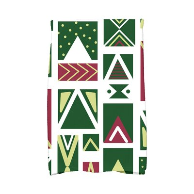 Jump for Joy Merry Susan Hand Towel Color: White