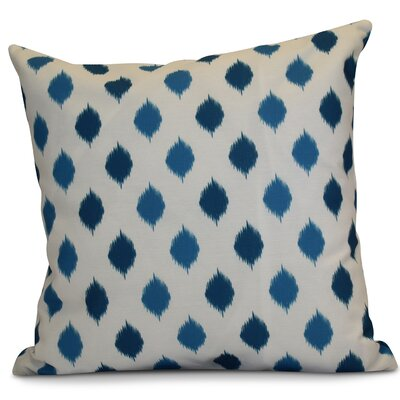 Hanukkah 2016 Decorative Holiday Geometric Outdoor Throw Pillow Size: 16 H x 16 W x 2 D, Color: Teal