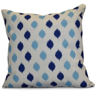 Hanukkah 2016 Decorative Holiday Geometric Outdoor Throw Pillow Size: 20 H x 20 W x 2 D, Color: Royal Blue