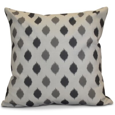 Hanukkah 2016 Decorative Holiday Geometric Outdoor Throw Pillow Size: 16 H x 16 W x 2 D, Color: Gray