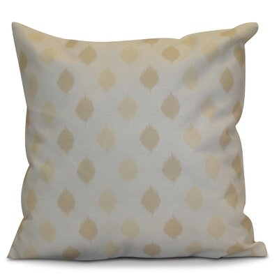 Hanukkah 2016 Decorative Holiday Geometric Outdoor Throw Pillow Size: 16 H x 16 W x 2 D, Color: Cream / Off White