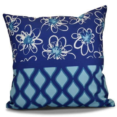 Hanukkah 2016 Decorative Holiday Geometric Throw Pillow Size: 18 H x 18 W x 2 D, Color: Light Blue