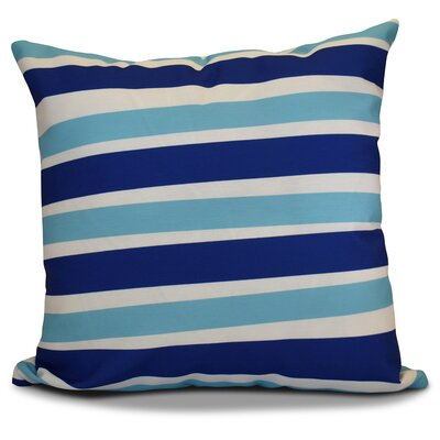 Hanukkah 2016 Decorative Holiday Striped Euro Pillow Color: Royal Blue