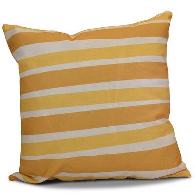 Hanukkah 2016 Decorative Holiday Striped Euro Pillow Color: Gold