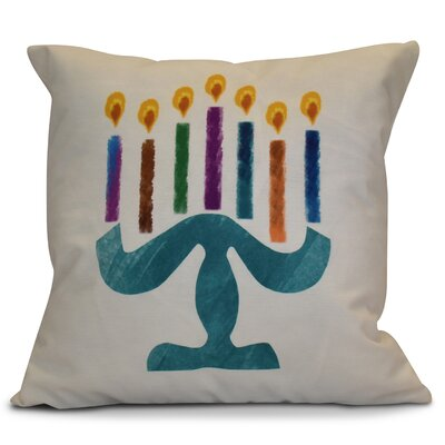 Hanukkah 2016 Decorative Holiday Geometric Euro Pillow